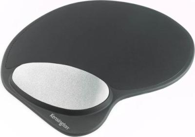 Kensington Optimise It Memory Gel Mouse Pad With Integral Wrist Rest Black