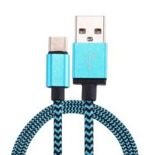 tuff-luv_woven_style_metal_head_usb_3_1_type-c_to_usb_2_0_data__charge_cable_1_m_-_blue